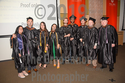 Ceremony Four Candids November 1st, 2019 Full Sail Graduation