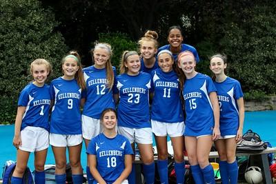 Girls Junior Varsity A Soccer –2018