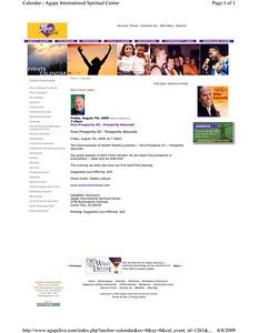 Agape International Spiritual Center