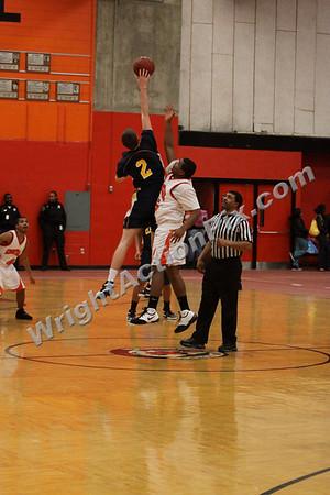 2009 02 17 Varsity Basketball Game vs. Pontiac Central