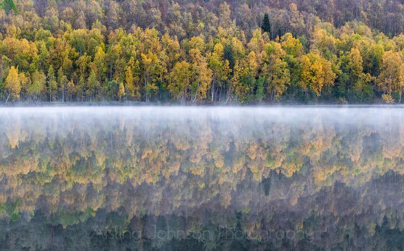 Mirror Lake, near Chugiak, Alaska