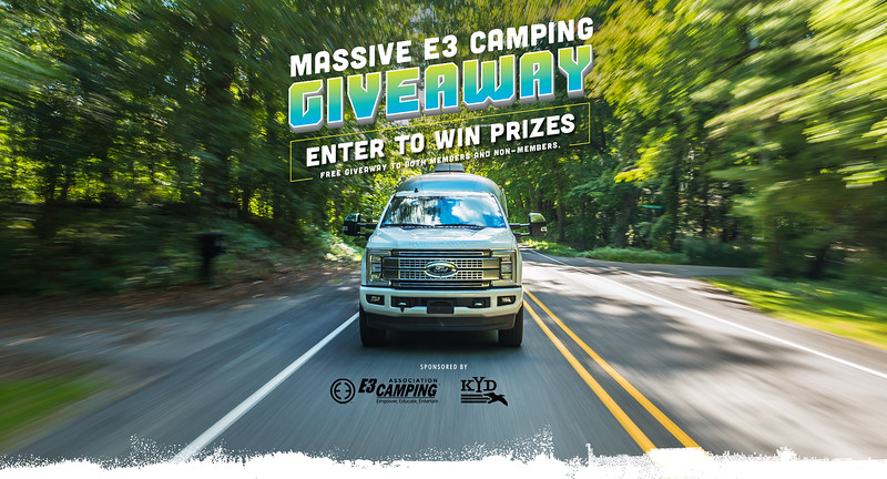 E3 Camping GiveAway