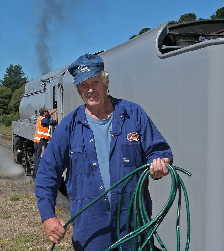 Thanks for the great ride, Ken. Doubling as chief cook and train washer.