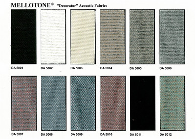 Organ Fabric Color Choices