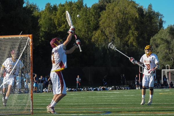 Bellarmine Varsity  vs. M-A Varsity Lacrosse 2014-03-13
