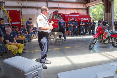 Redwood Valley Fire Training