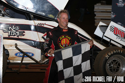 Lincoln Speedway - Dirt Classic - 9/24/16 - Michael Fry