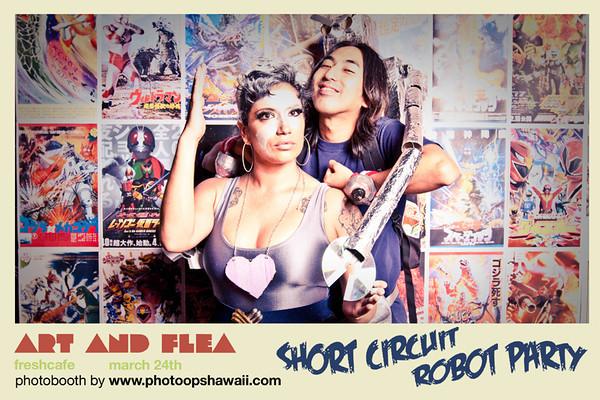 Art & Flea Robot Party (March 2011)