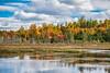 Leaf peeping down the Golden Road - Millinocket, Maine