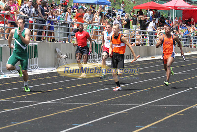 D3 Boys 4x100M Relay - 2013 MHSAA LP Track and Field Finals