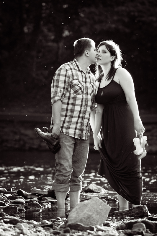 Naperville Riverwalk Engagement