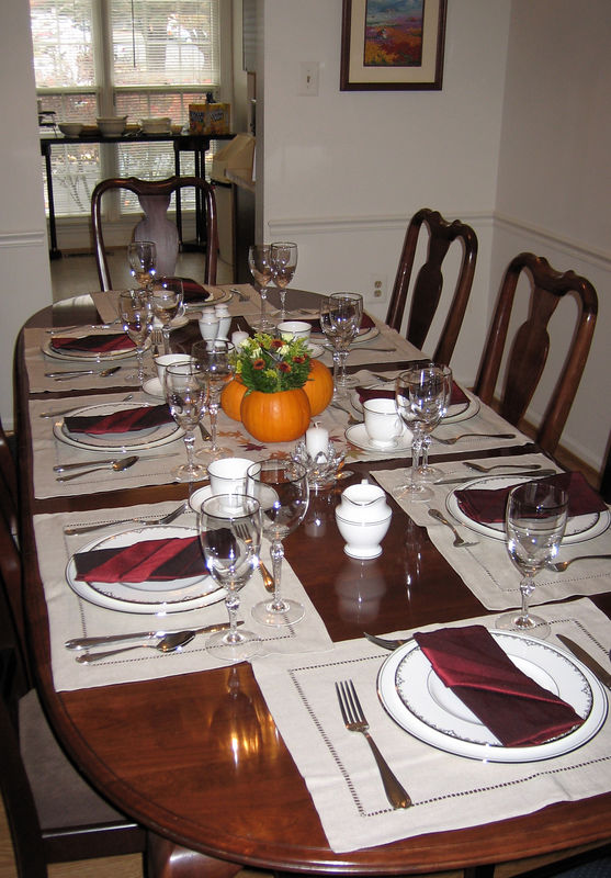 The table is all set