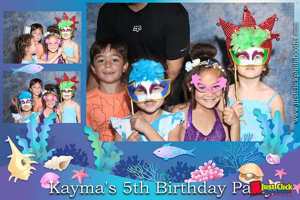 KaMya 5th Birthday Party