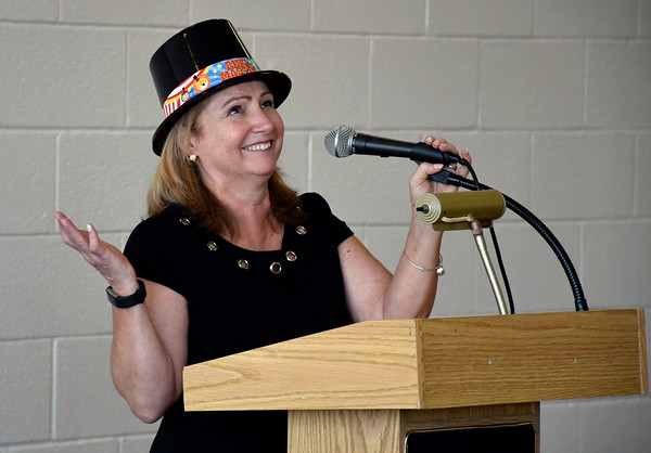 5/25/2018 Mike Orazzi   Staff FRC Director Linda Rich during the FRC 2018 Volunteer Recognition Big Top Event.