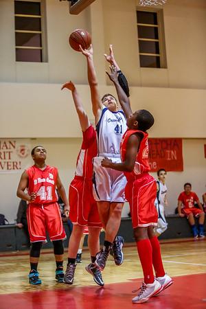 Mar 9 - Basketball - 8th Gr Blue vs SMG Red