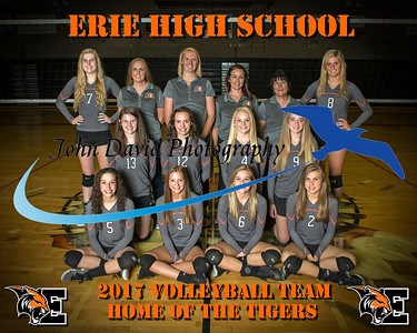 2017 EHS Volleyball Team Pics