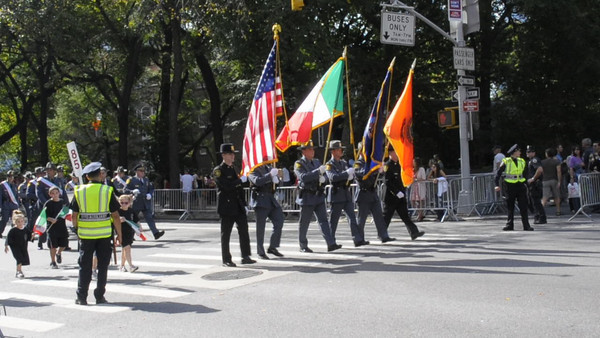 COLUMBUS DAY PARADE VIDEO