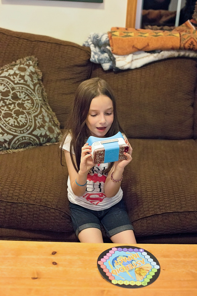 Looking for STEM activities for your kids? Hololab is a monthly subscription box of augmented reality science learning activities for kids. #ad