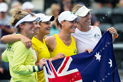 2014 BNP Paribas Fed Cup - Aus vs Rus