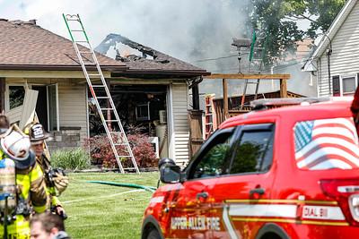 Mechanicsburg Garage Fire 2021-5-2