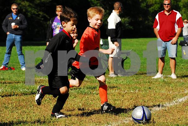 Team 1 Black vs Team 9 Orange - 9-20-08