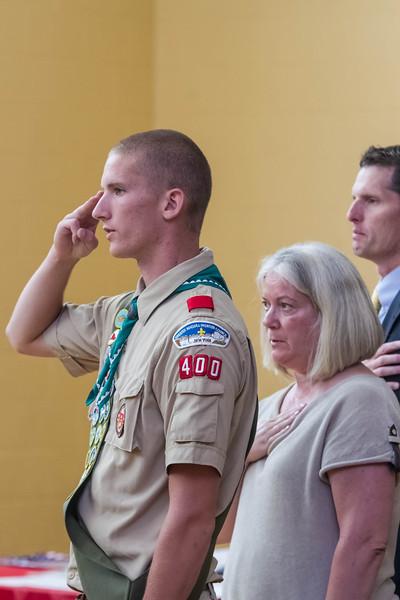 Nicholas Danyluk Eagle Scout Ceremony