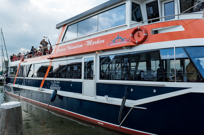 The Volendam-Marken Express Ferry