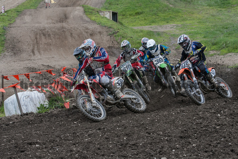 CNYMRA/AMA District 3 MX Points Race, Broome-Tioga Sports Center, August 4, 2013