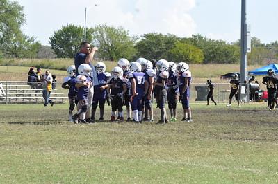 Wichita Aztecs  vs Wichita Bulldogs 3rd Grade