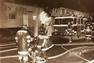 4th Alarm Fire-Louis Cafe & Lounge Sea Street Quincy Ma. 02/01/96