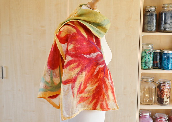 Tulpen (sjaal, april 2021)