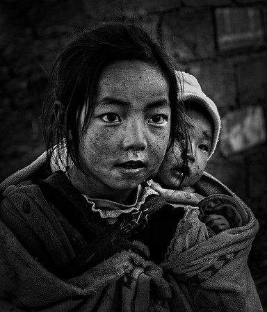 2017 - CHINA: PORTRAITS OF DALIANGSHAN,  B&W