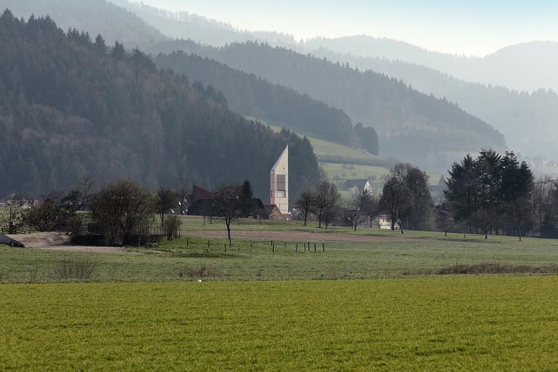 Kirchturm Bleibach