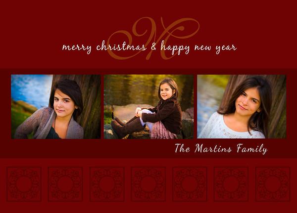 Martins Holiday Card