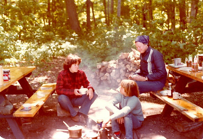 Porcupine Mountain 1978; Bruce peninsula 1976