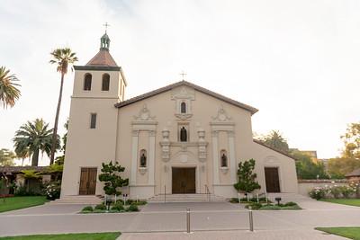 DSJ Vespers at Santa Clara Mission