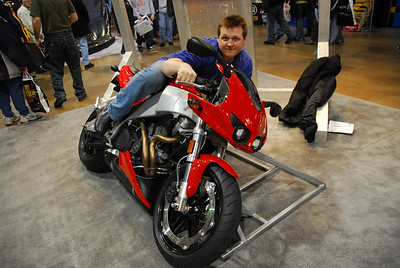Cycle World's International Motorcycle Show in Chicago, 2007