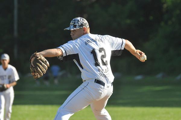 Pittsfield Post 68 vs East Springfield Legion baseball-062415
