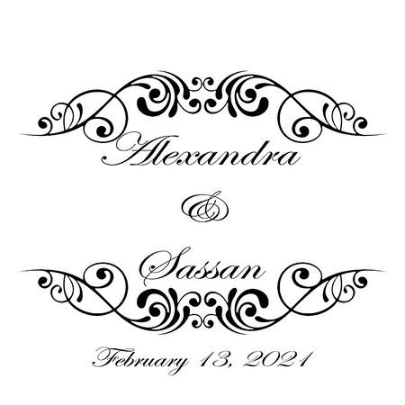 Alexandra and Sassan