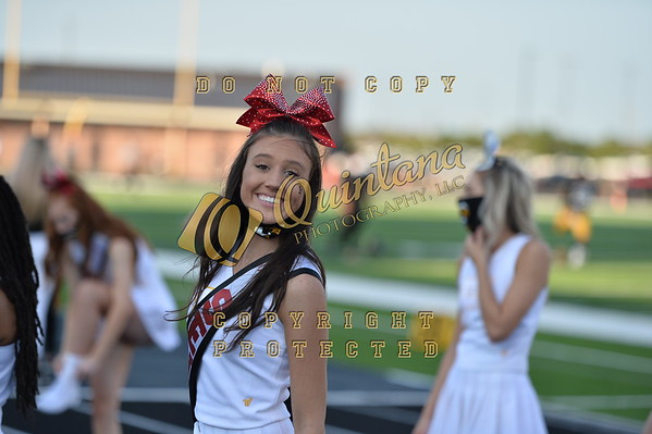 Senior Night - Cheer