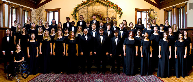 Choir in the Great Hall (11.7.08)