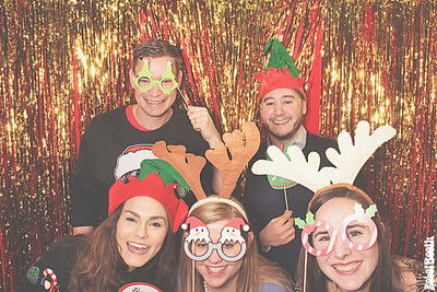 12-20-18 Atlanta Home Depot Photo Booth - CCTT Holiday Breakfast - Robot Booth