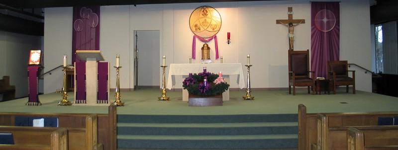 2013 Dec Advent Altar