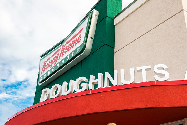 Krispy Kreme Doughnuts Grand Opening