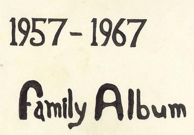 Family Album 1957-67