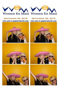 Women en Mass Aspen Photo Booth 09/25/18