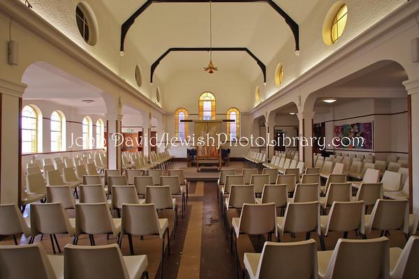 ENGLAND, London. New North London Synagogue (old synagogue). (3.2011)