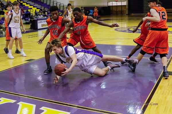 Boys Frosh Basketball v Hayfield 12/7/18