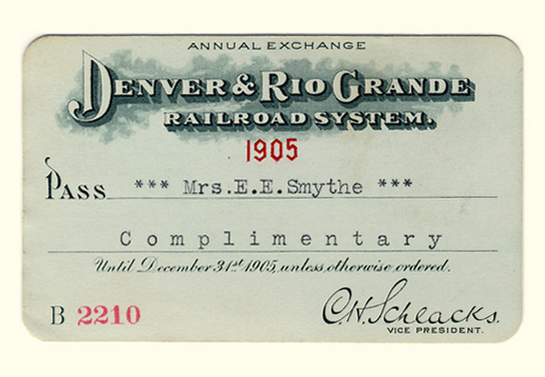 D&RG Railroad System 1905
