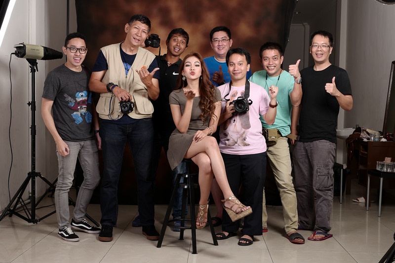 Workshop portrait studio flash 27 Agustus 2016